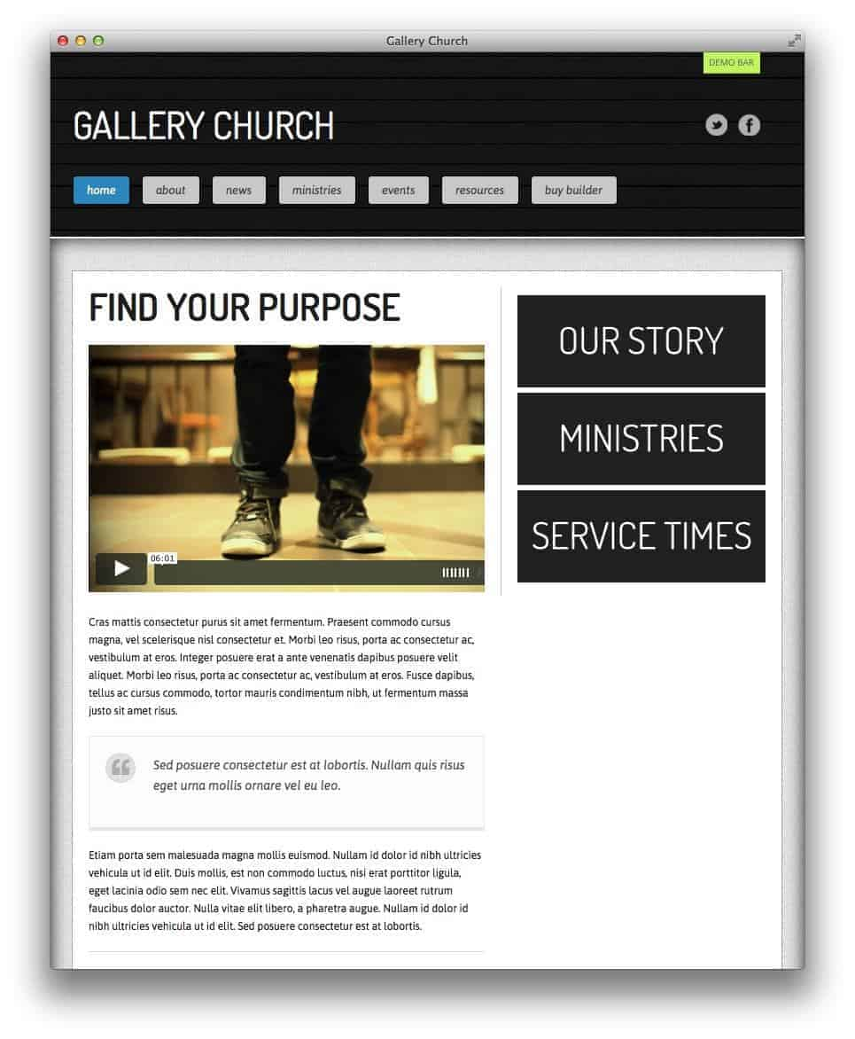 gallery-church-theme