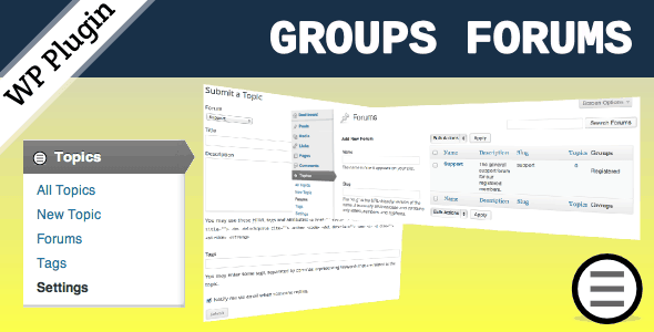 Groups-Forums