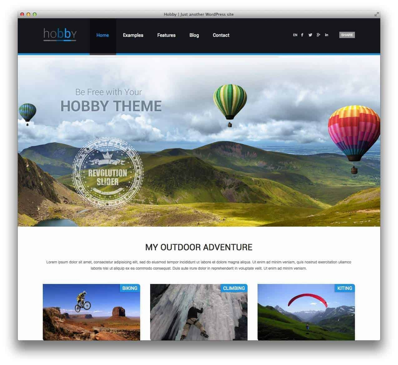 hobby-personal-blog-wordpress-theme