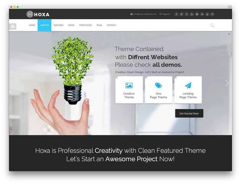 hoxa-wordpress-theme