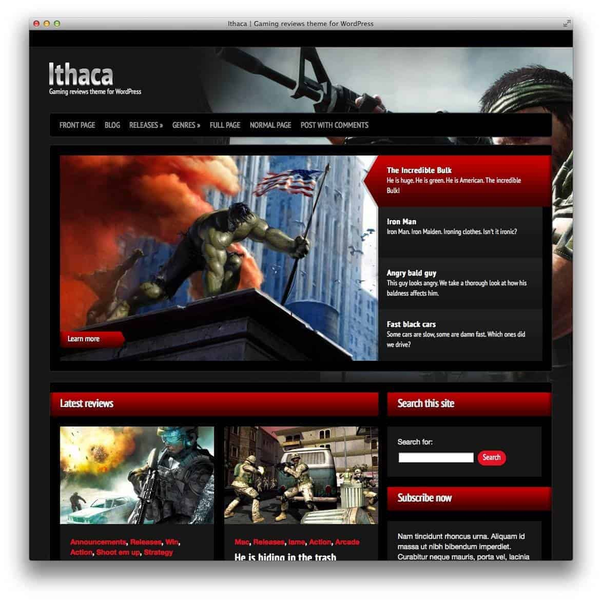 ithaca-wp-themes