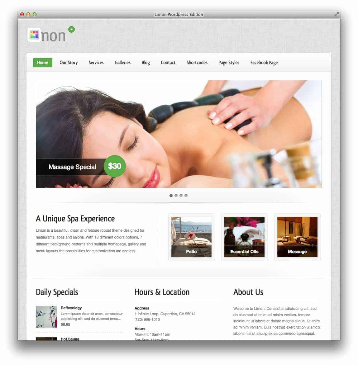 limon-spa-theme