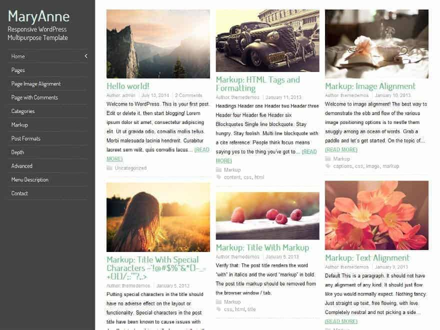 Marry-Anne-WP-Theme