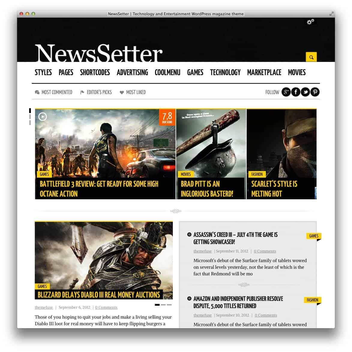 newssetter-theme