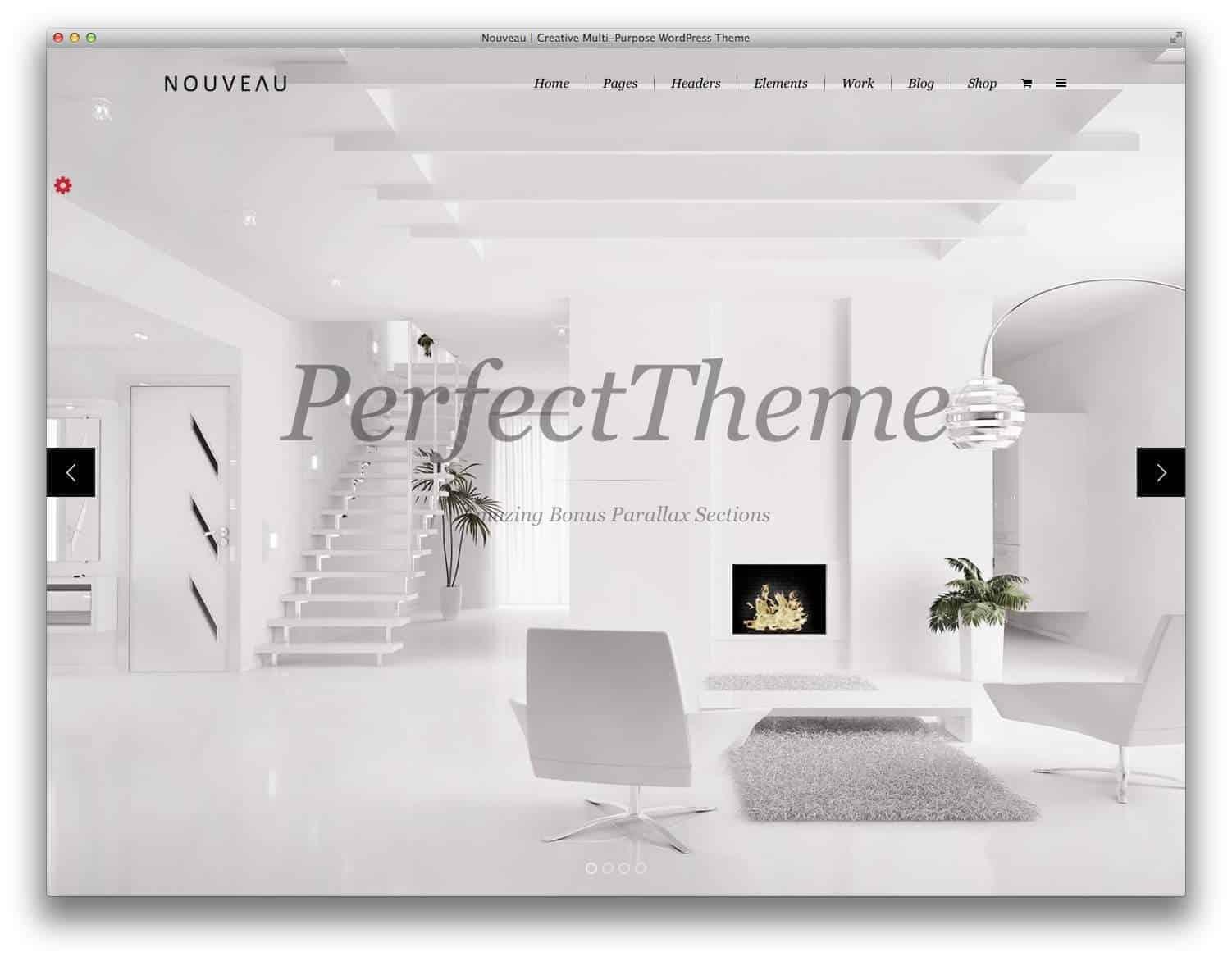 Nouveau-wordpress-theme