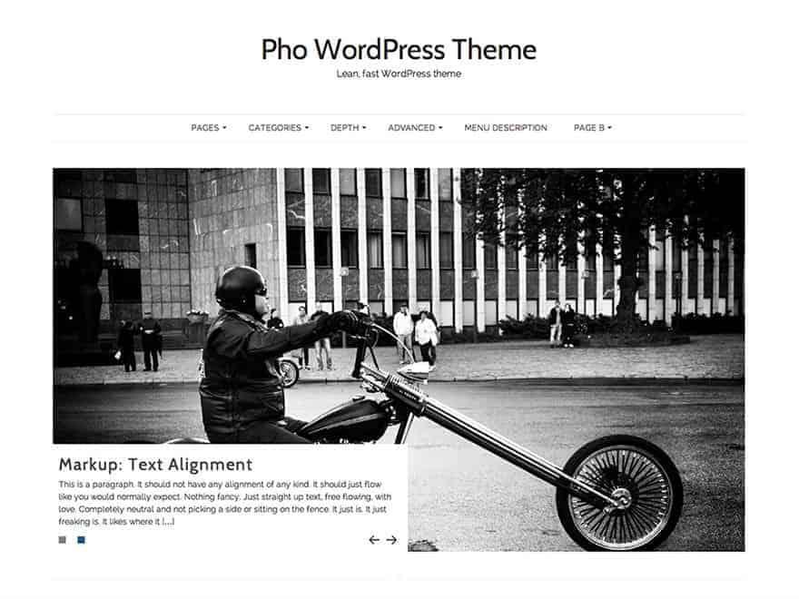 Pho-WP-Theme