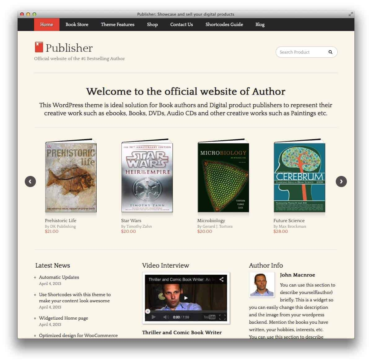 publisher-wordpress-theme