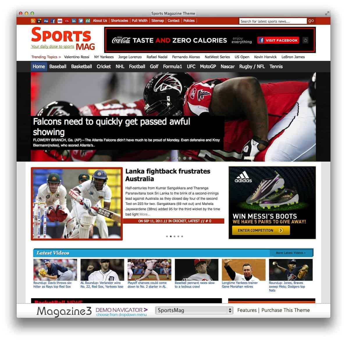 sportsmag-theme