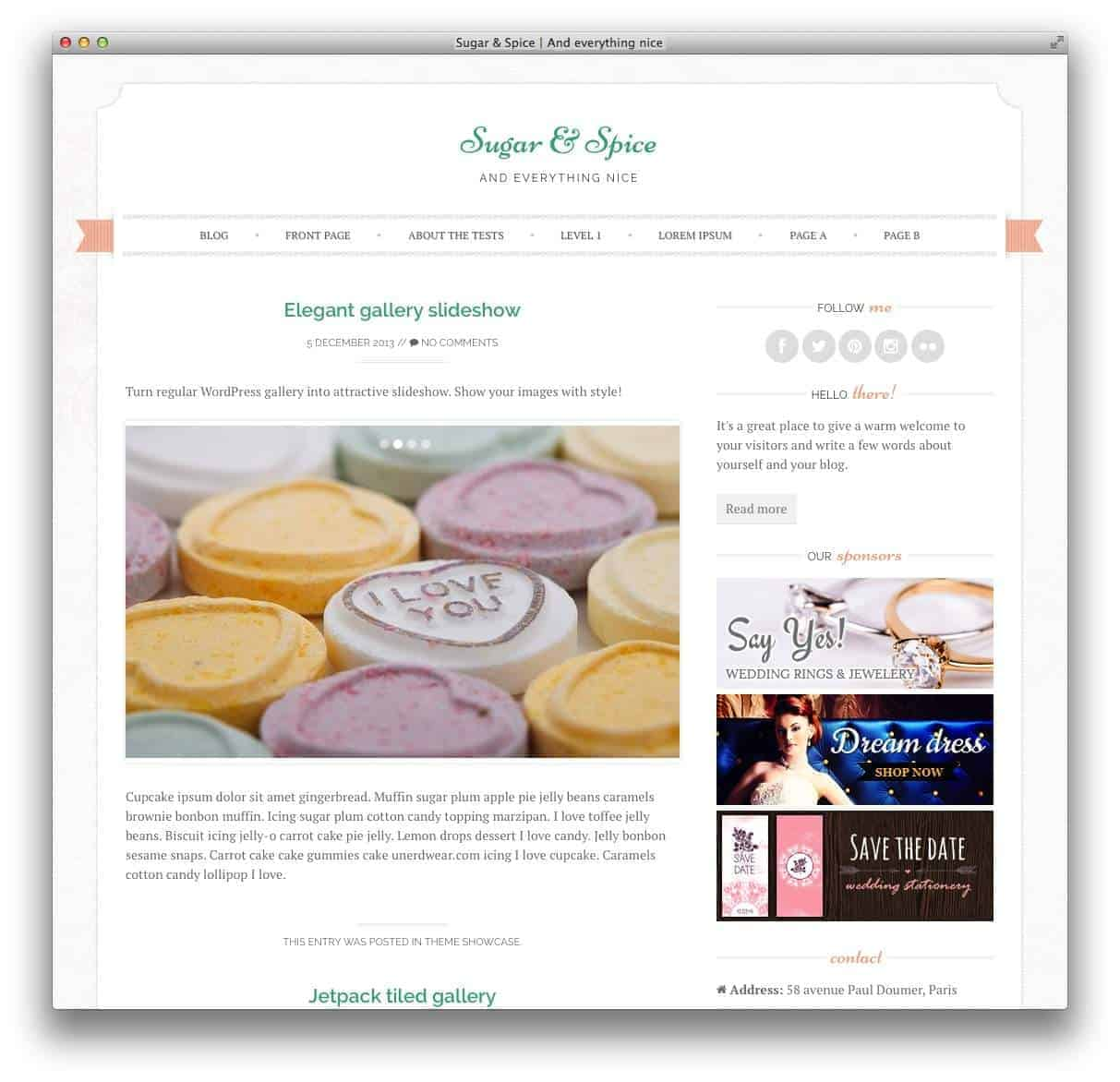 sugarspice-wordpress-theme