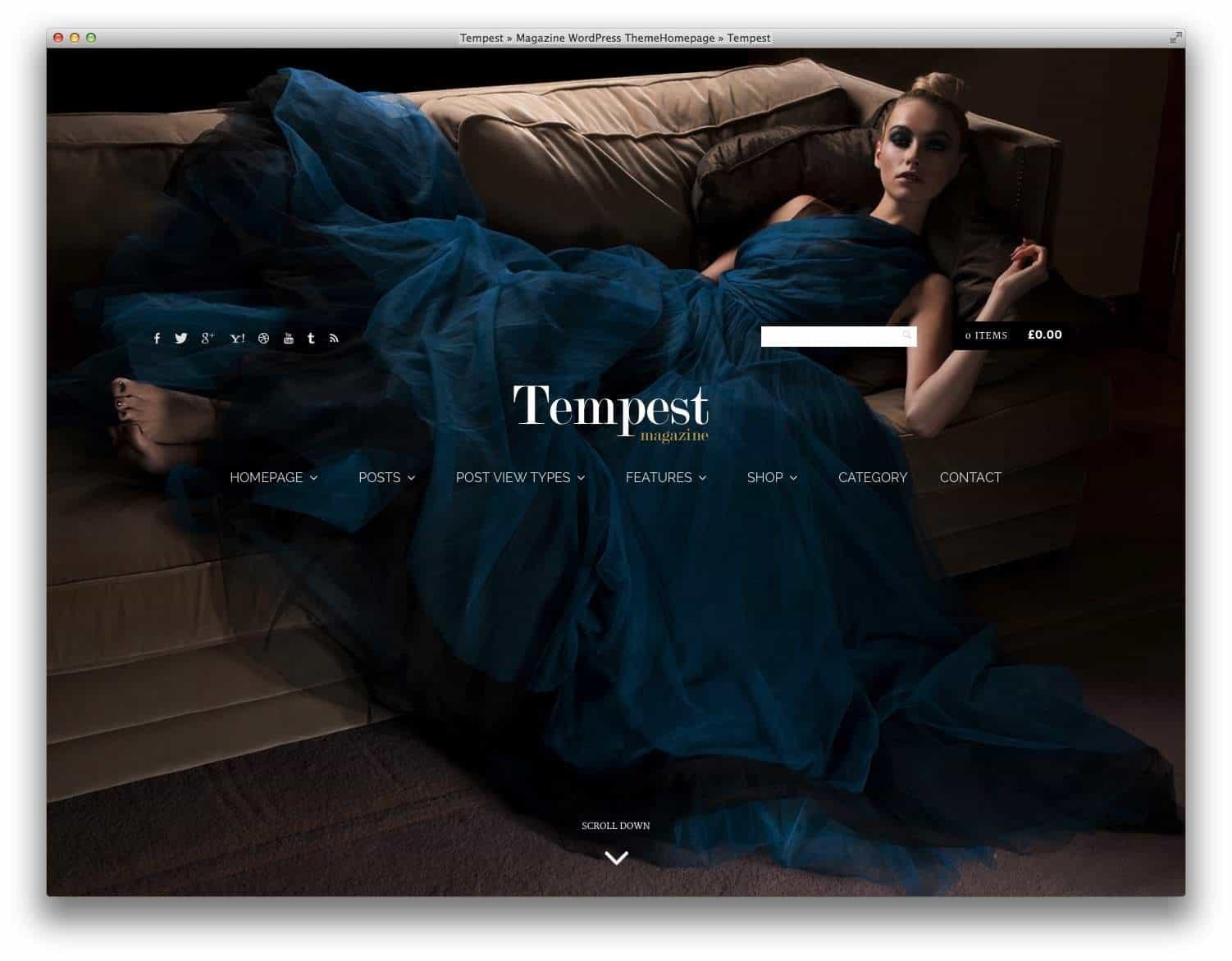 Tempest-fashion-theme