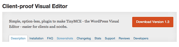 wordpress-editor-plugins-client-proof