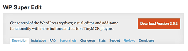 wordpress-editor-plugins-wp-super-edit