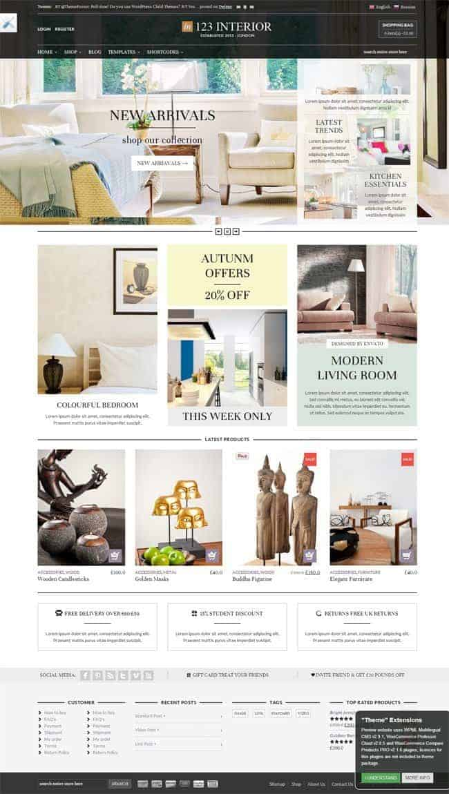123interior-ecommerce-wordpress-theme