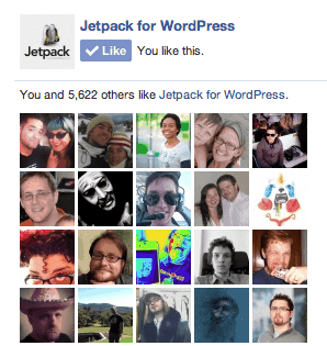 jetpack-facebook-like-box-widget-demo