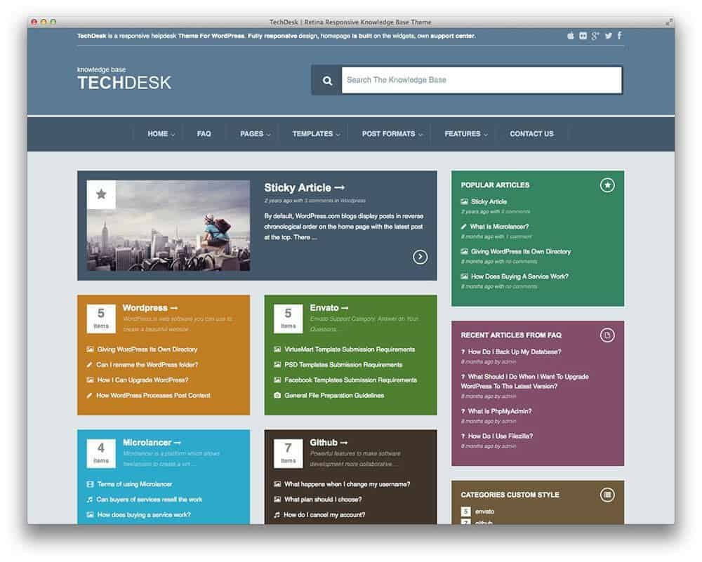 techdesk-support-wp-theme