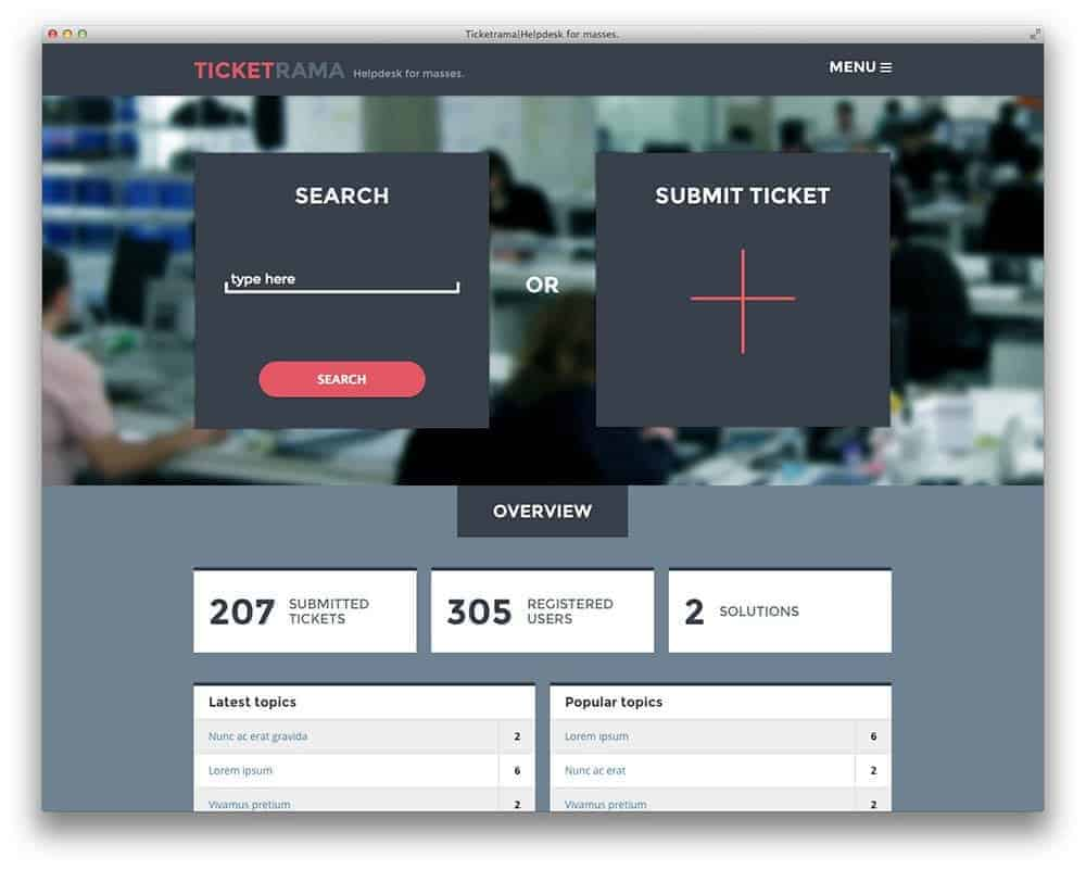 ticketrama-support-wp-theme