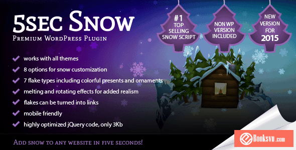 5sec-snow-wordpress-plugin