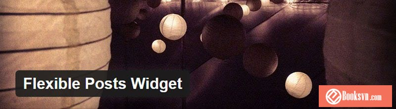 flexbile-posts-widget-wordpress plugin