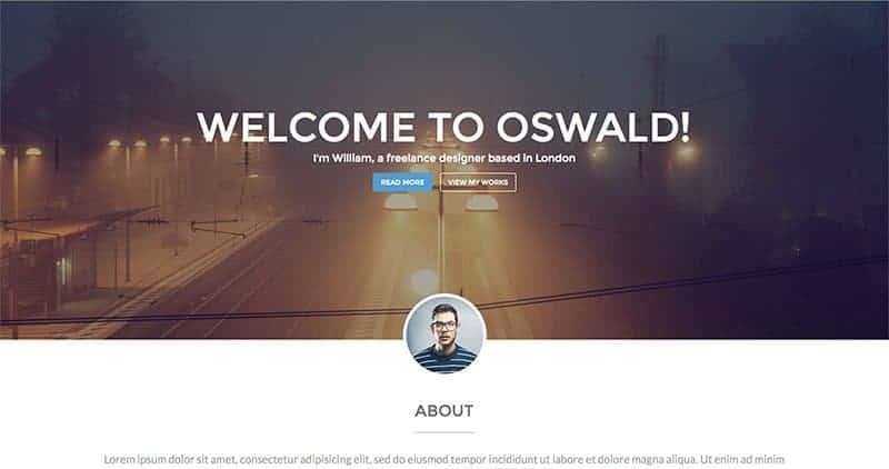 oswald-wp-theme