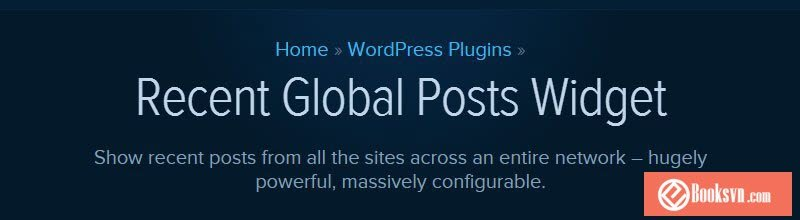 recent-global-posts-widget-plugin