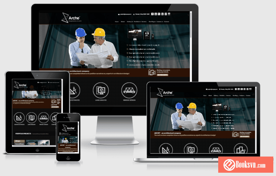 arche-architecture-wordpress-responsive-theme