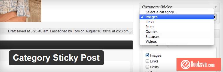 category-sticky-post-wordpress-plugin