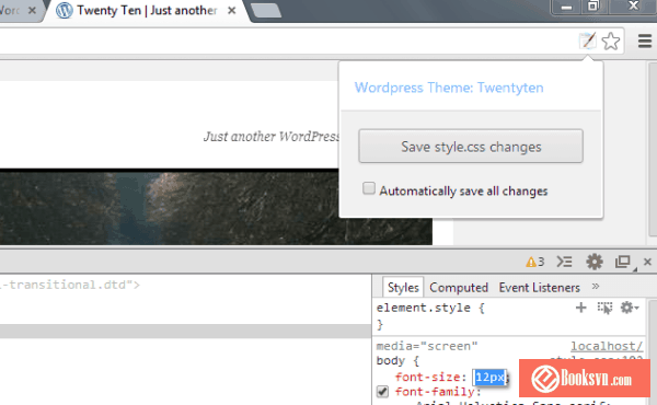 wordpress-style-editor-chrome-extensions