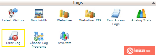 error-log-cPanel