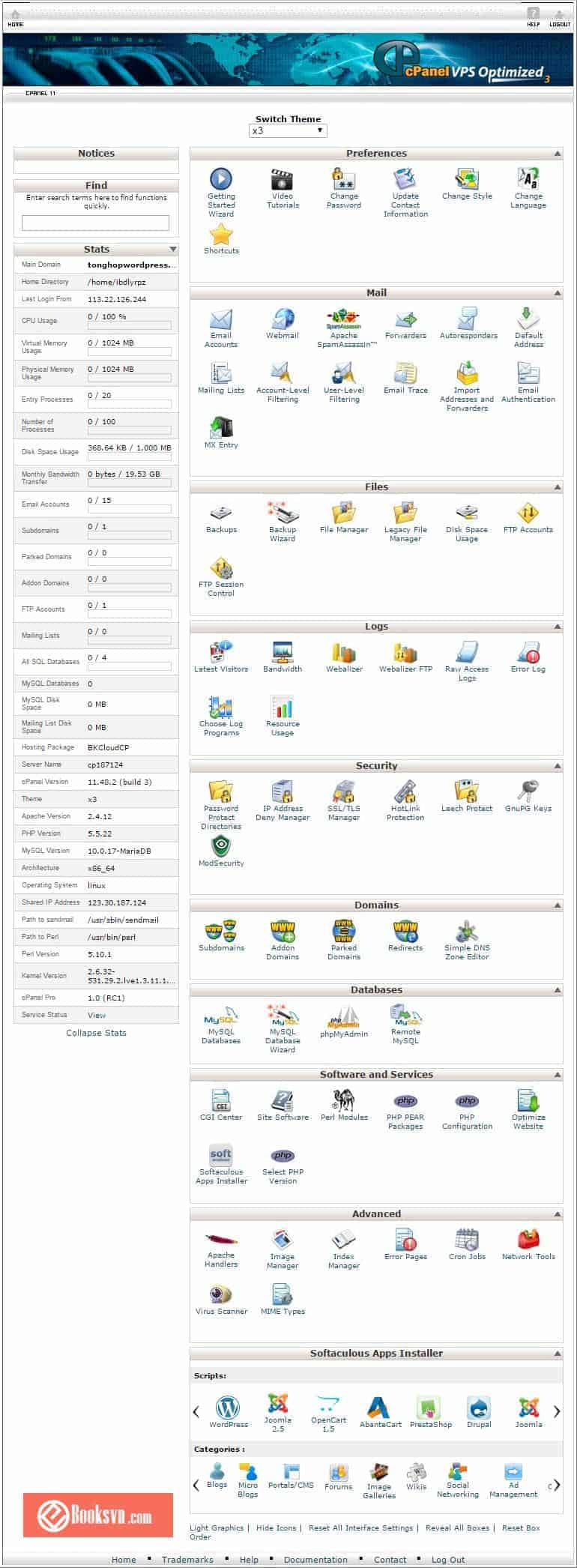 giao-dien-cpanel-shared-hosting