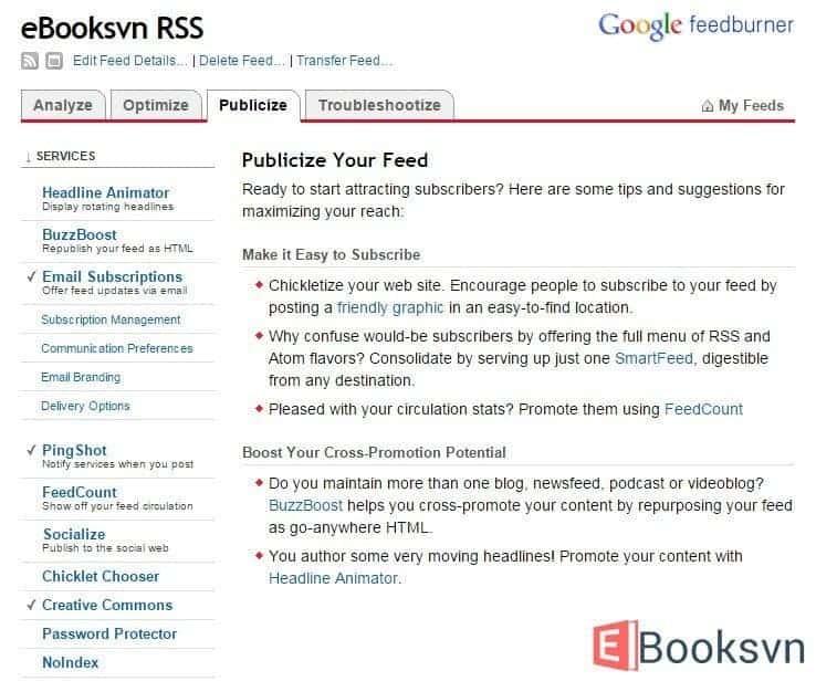 thiet-lap-tab-publicize-trong-feedburner