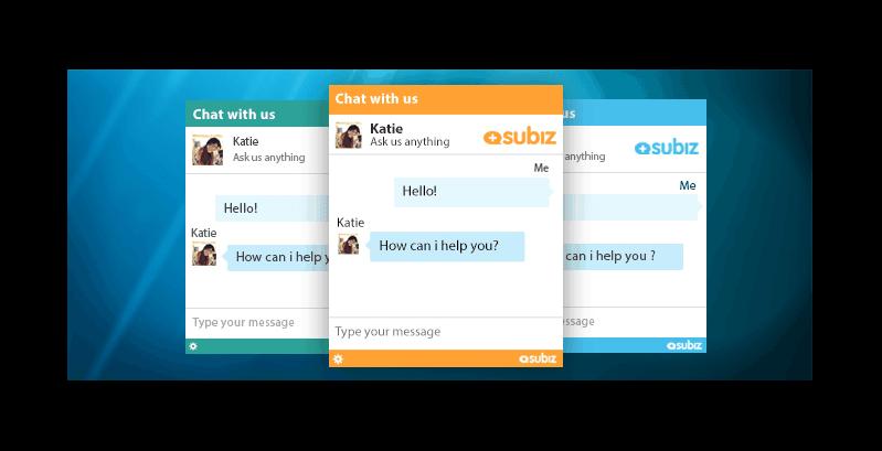 Tùy chỉnh cửa sổ chat Subiz