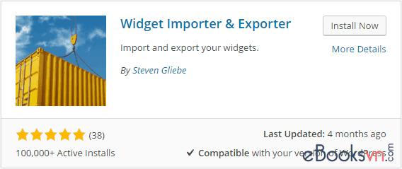 cai-dat-va-kich-hoat-plugin-widget-importer-exporter