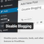 Vô hiệu hóa tính năng viết bài trong WordPress