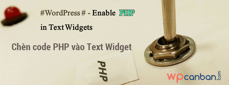chen-code-php-vao-text-widget-trong-wordpress