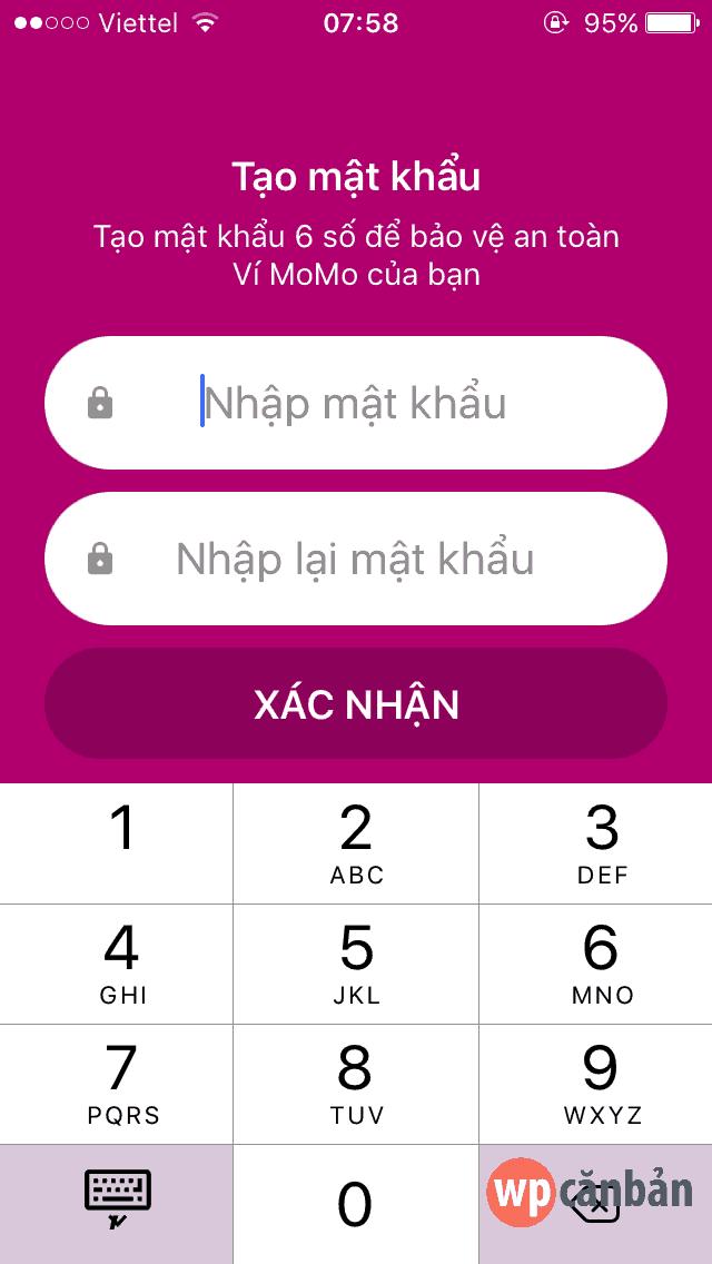 thiet-lap-mat-khau-vi-dien-tu-momo