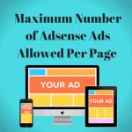Google AdSense bỏ giới hạn số lượng quảng cáo trên mỗi trang