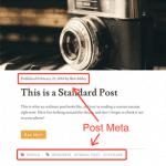 Loại bỏ post info và post meta khỏi các trang lưu trữ trong Genesis
