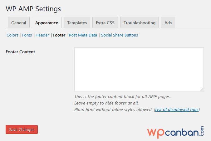 thiet-lap-tab-appearance-footer-cua-plugin-wp-amp