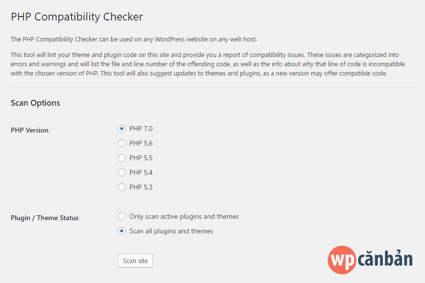 thiet-lap-php-compatibility-checker