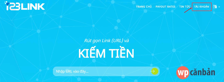 click-vao-muc-tai-khoan-tren-123link-co
