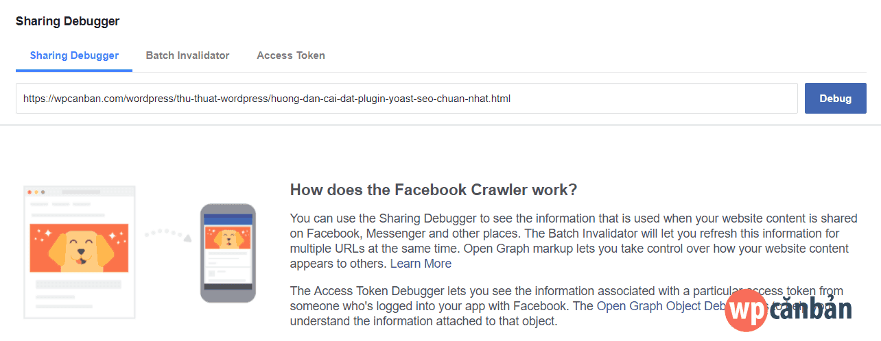 facebook-sharing-debugger