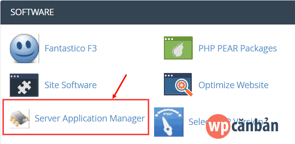 server-application-manager