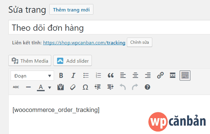 shortcode-theo-doi-don-hang-trong-woocommerce