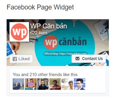widget-facebook-page
