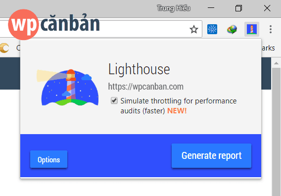 chrome-lighthouse-extension