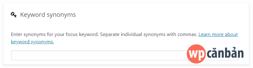 keyword-synonyms