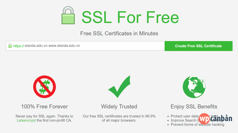 create-free-ssl-certificate
