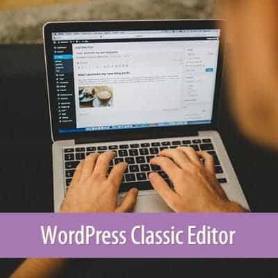Cài đặt trình soạn thảo cổ điển cho WordPress
