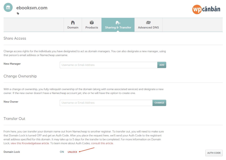 unlock-domain