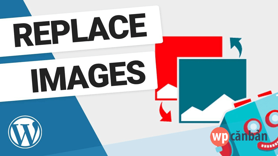 Replace the image in WordPress